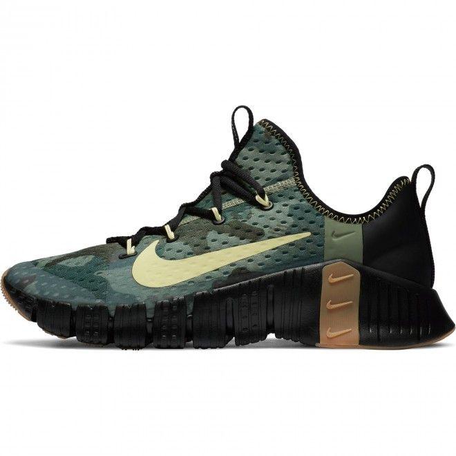 Sapatilhas Nike Free Metcon 3 Unissexo Verde Malha Cj0861-032