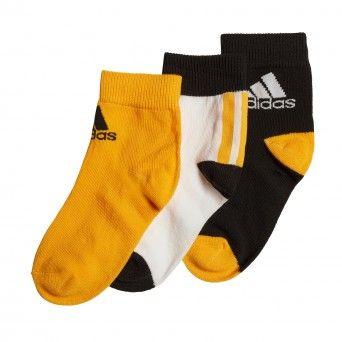 Meias Adidas Pelo Tornozelo – 3 Pares Ge3326