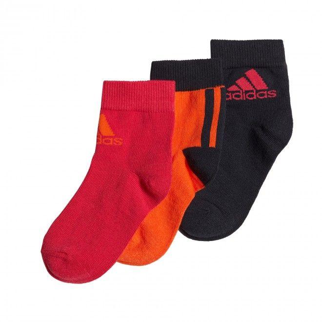 Meias Adidas Pelo Tornozelo – 3 Pares Ge3324