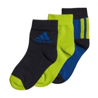 Meias Adidas Pelo Tornozelo – 3 Pares Ge3323