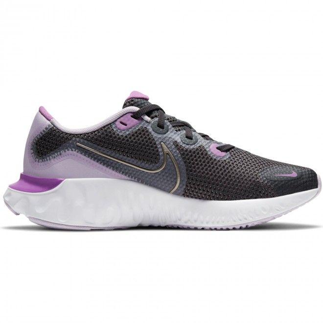 Sapatilhas Nike Renew Run (Gs) Feminino Cinzento Malha Ct1430-008