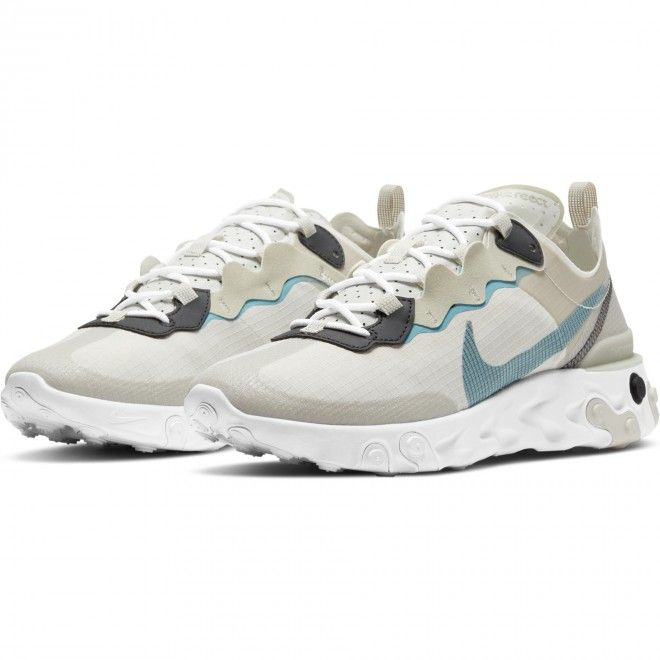 Sapatilhas Nike React Element 55 Retro Unisexo Adulto Bege Nylon CU1466-200