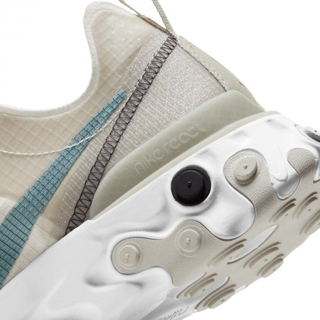 Sapatilhas Nike React Element 55 Retro Unisexo Adulto Bege Nylon CU1466-200