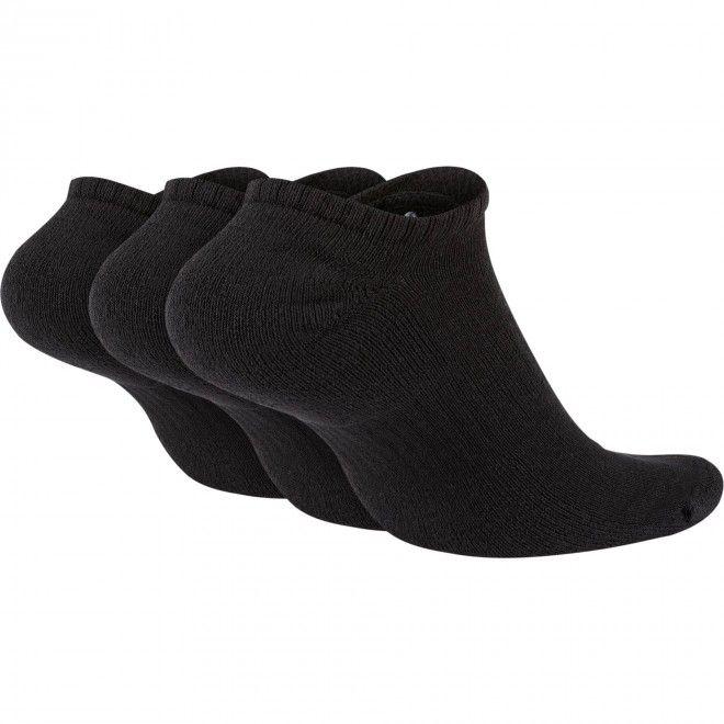 Meias Nike Everyday Cushioned Training No-Show Socks (3 Pares) Sx7673-010