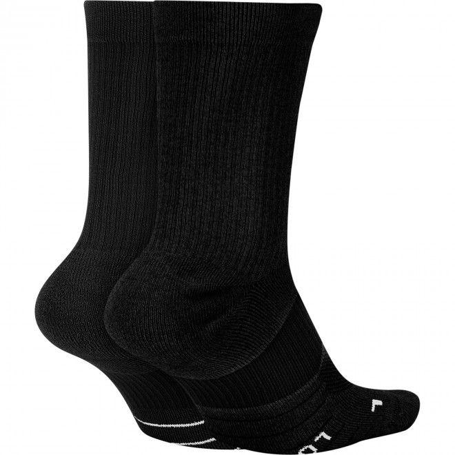 Meias Nike Multiplier Crew Sock (2 Pares) Sx7557-010