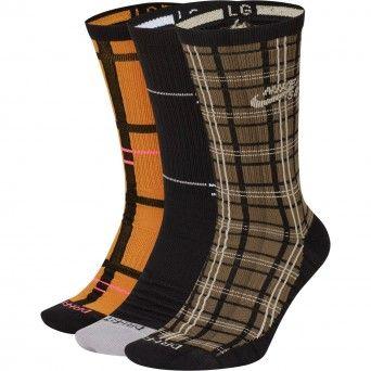 Meias Nike Sb Everyday Max Lightweight Skate Crew Socks (3 Pares) Cq9361-902