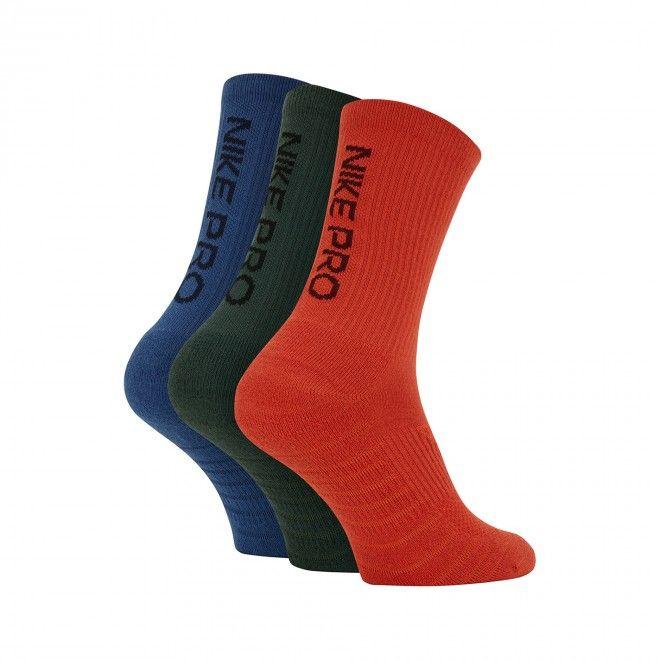 Meias Nike Pro Everyday Max Cushioned Training Crew Socks (3 Pares) Sk0121-902