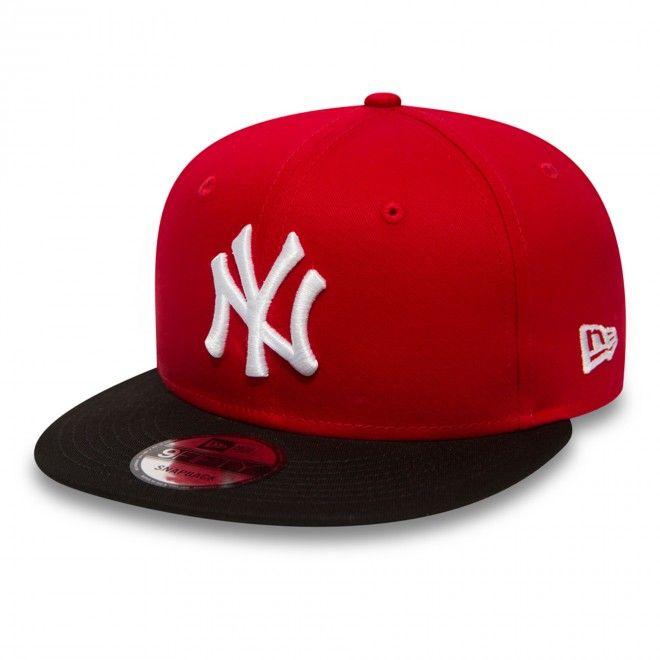 New Era New York Yankees Cotton Block Snapback 10879530
