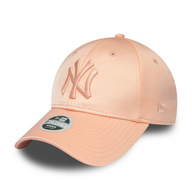 Boné New Era New York Yankees Women'S Satin Pink 9Forty Cap 12489925