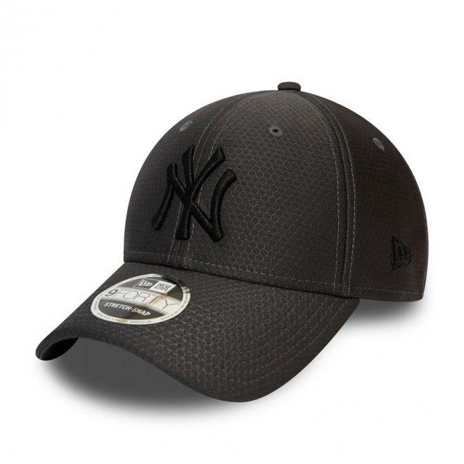 Boné New Era New York Yankees Tonal Black Stretch Snap 9Forty Cap 12489977