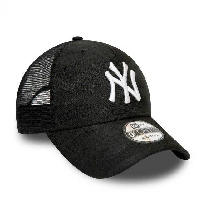 Boné New Era New York Yankees Seasonal The League Black Camo 9Forty Cap 12490015