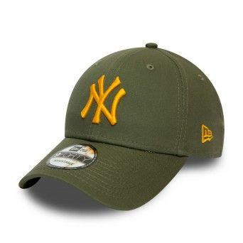 Boné New Era New York Yankees League Essential Khaki 9Forty Cap 12490166