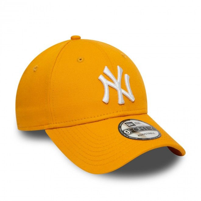Boné New Era New York Yankees League Essential Yellow 9Forty Cap 12490167