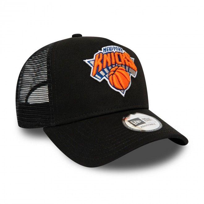 Boné New Era New York Knicks Dark Base Black A-Frame Trucker 12490297