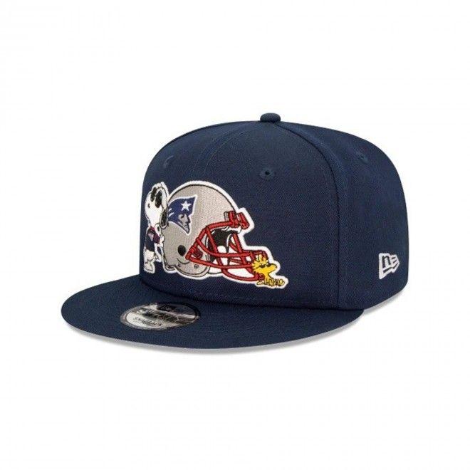 Boné New Era Nfl New England Patriots Peanuts 9Fifty Snapback Cap 12351594