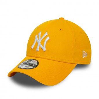Boné New Era New York Yankees Essential Yellow 9Forty Cap 12380596