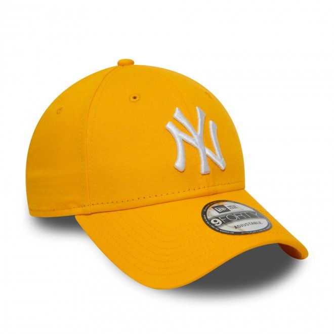 Boné New Era New York Yankees Essential Yellow 9Forty Cap 12380596