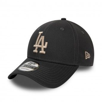 Boné New Era Los Angeles Dodgers Essential Charcoal 9Forty Cap 12380598