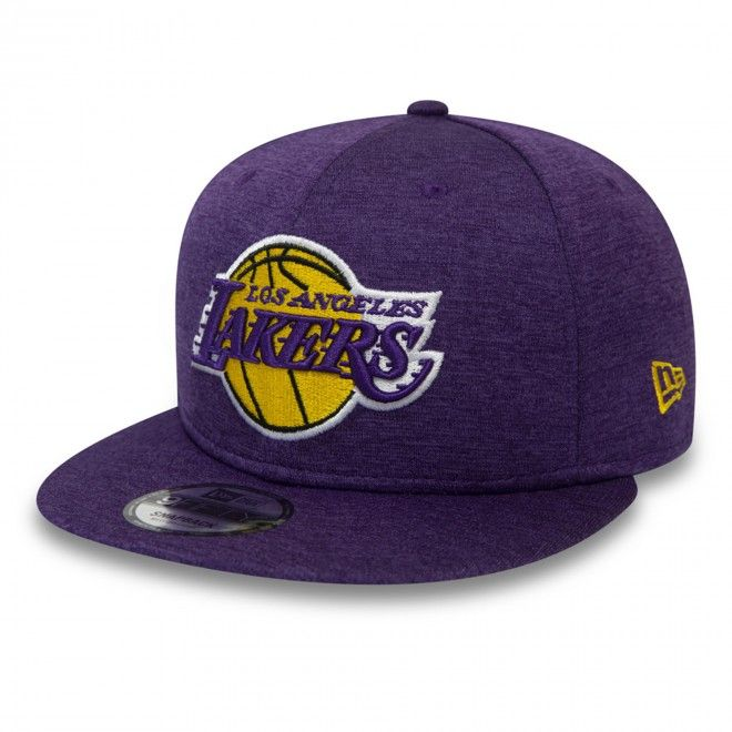 Boné New Era Los Angeles Lakers Shadow Tech Purple 9Fifty Snapback Cap 12380817