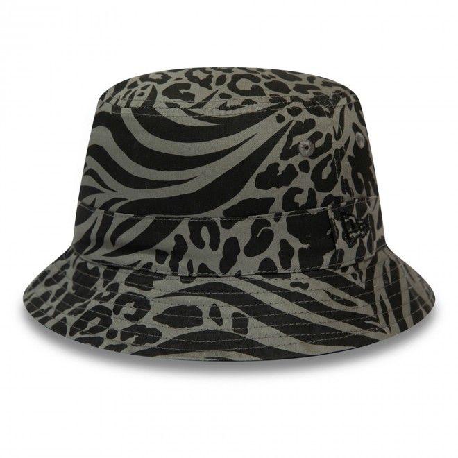 Chapéu New Era All Over Print Black Reversible Bucket 12380834