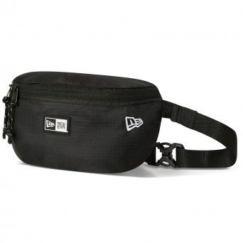 Bolsa New Era Black Essential Mini Waist Bag 12380960