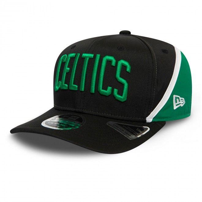 Boné New Era Boston Celtics Hook Black Stretch Snap 9Fifty Cap 12380982