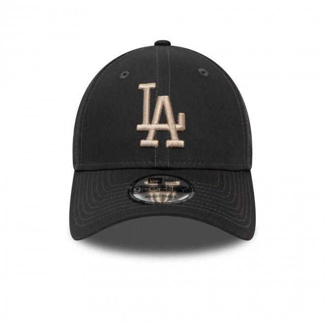 Boné Los Angeles Dodgers Essential Kids Graphite 9Forty Cap 12381059
