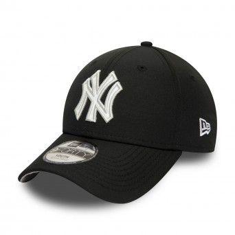 Boné New Era New York Yankees Script Infill Black 9Forty Cap 12381233