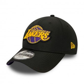 Boné New Era Los Angeles Lakers Hook Kids Black 9Forty Cap 12381234
