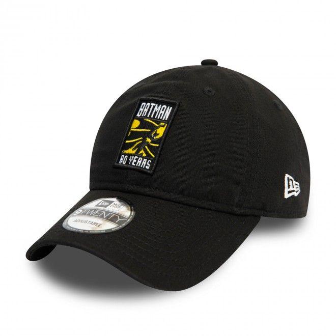 Boné New Era Batman 80Th Anniversary Black 9Twenty Cap 70539206