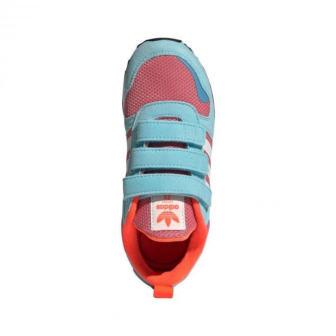 Sapatilhas Adidas ZX 700 HD CF Criança Feminino Azul Malha Camurça FY2654