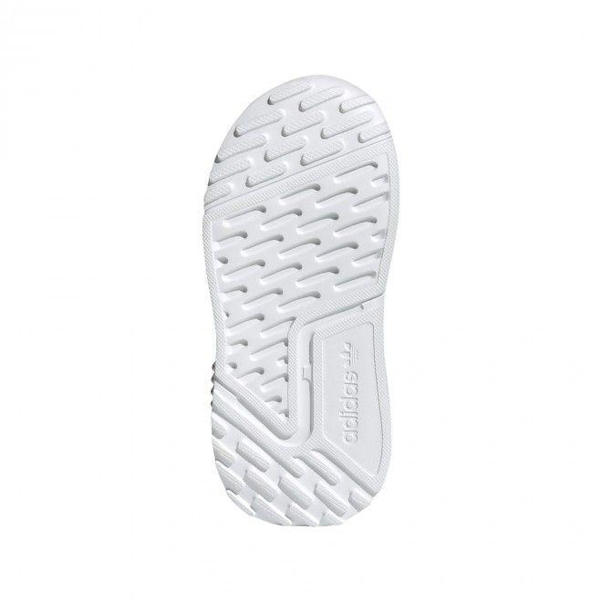 Sapatilhas Adidas Multix El Infantil Feminino Cinza Malha FX6406