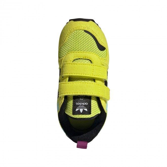 Sapatilhas Adidas ZX 700 HD CF Infantil Unisexo Amarelo Malha Camurça FX5240