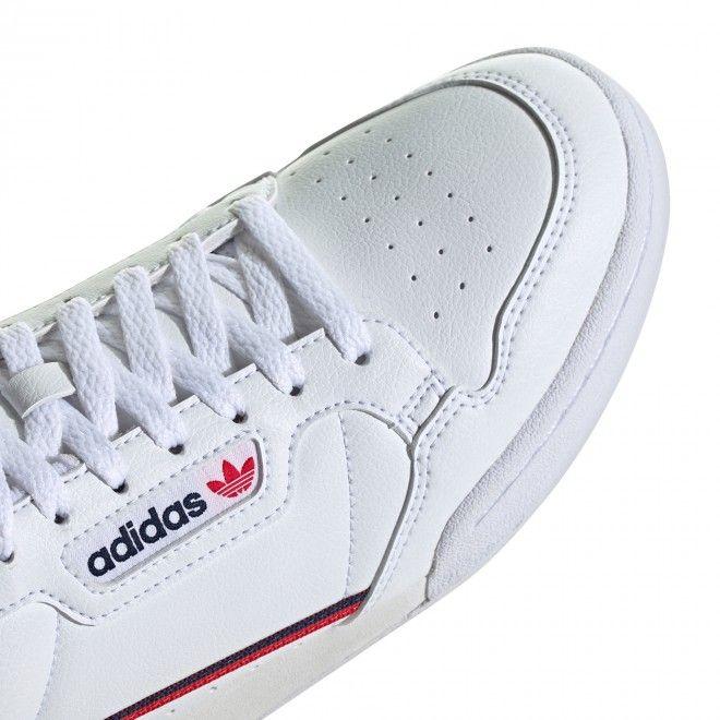 Sapatilhas Adidas Continental 80 Vegan Homem Branco Sintético FW2336