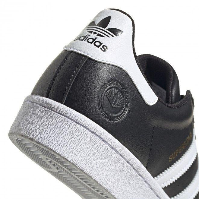 Sapatilhas Adidas Superstar Vegan Homem Preto Sintético FW2296
