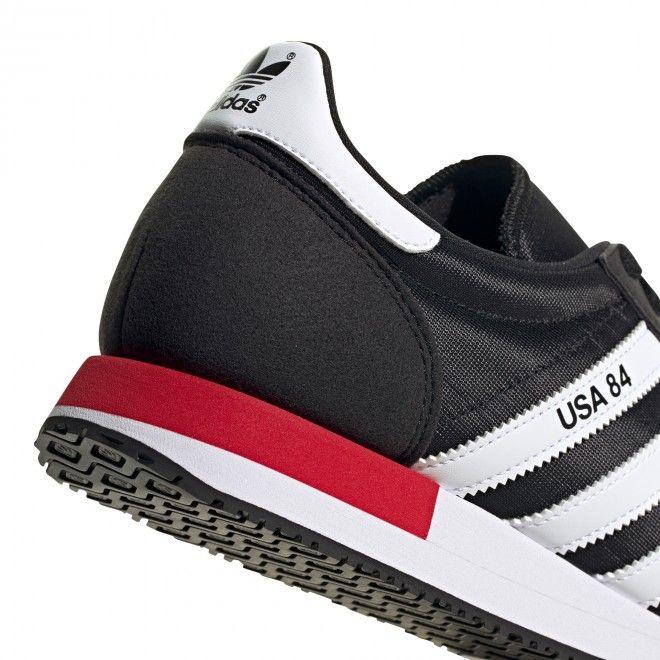 Sapatilhas Adidas USA 84 Homem Preto Malha FV2050