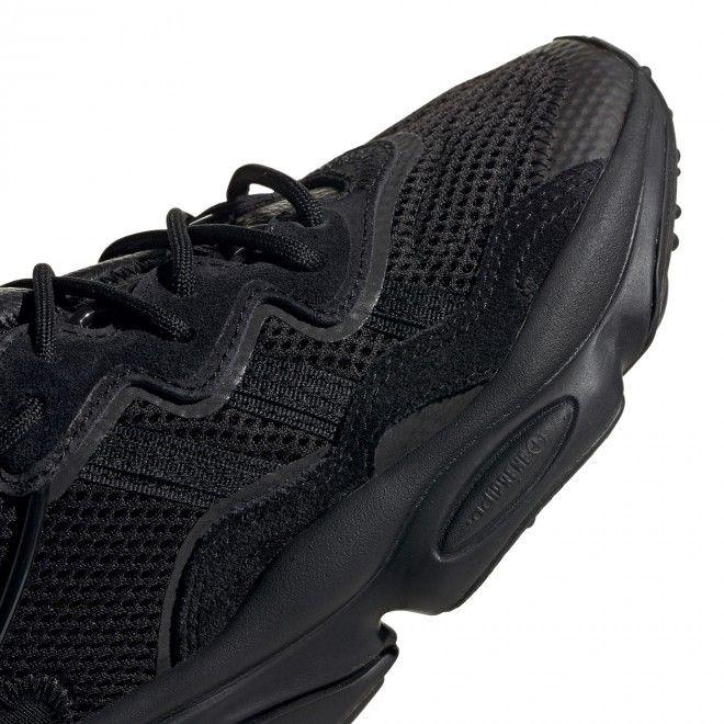 Sapatilhas Adidas Ozweego Junior Unisexo Preto Camurça Pele EE7775