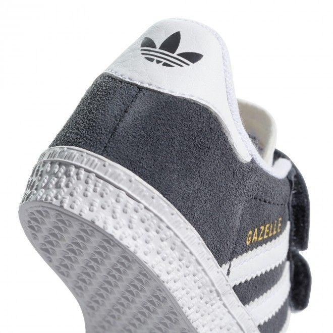 Sapatilhas Adidas Gazelle CF Infantil Unissexo Cinza Camurça CQ3140