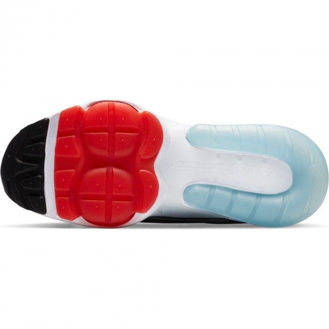 Sapatilhas Nike Air Max ZM950 Rapaz Branco Cinza Preto Tecido Pele CN9835-100