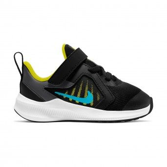 Sapatilhas Nike Downshifter 10 Infantil Masculino Preto Malha CJ2068-009