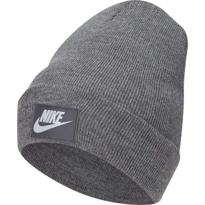 Gorro Nike Sportswear Cuffed Beanie Unisexo Cinza Malha Acrílico DA2021-071