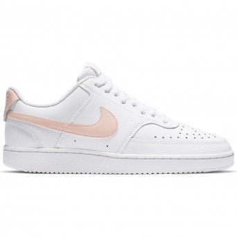 Sapatilhas Nike Court Vision Low Mulher Branco Pele CD5434-105