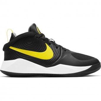 Sapatilhas Nike Team Hustle D 9 Homem Amarelo Preto Tecido AQ4224-013