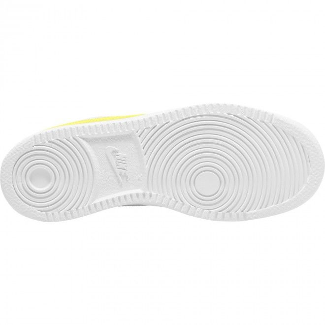 Sapatilhas Nike Court Vision Low Mulher Branco Amarelo Pele CD5434-109