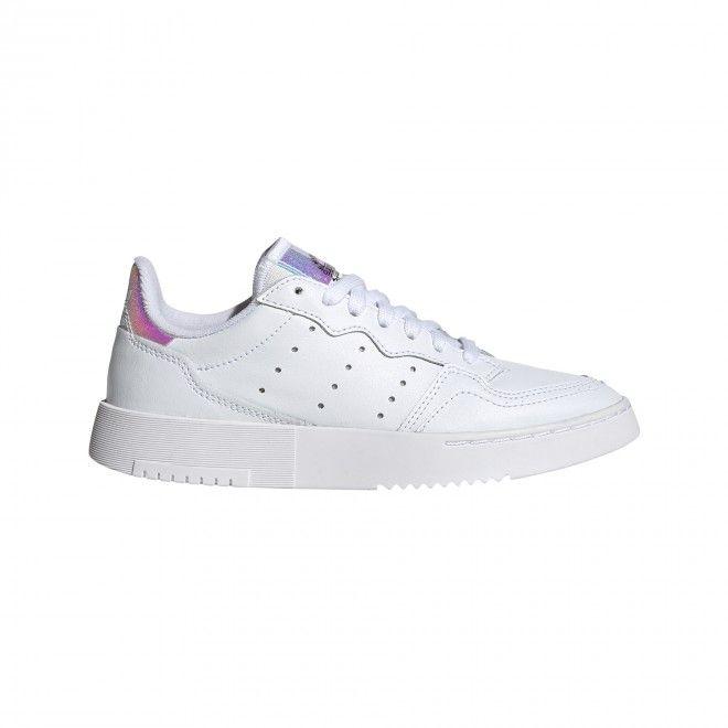 Sapatilhas Adidas Supercourt Criança Feminino Branco Pele EG8489