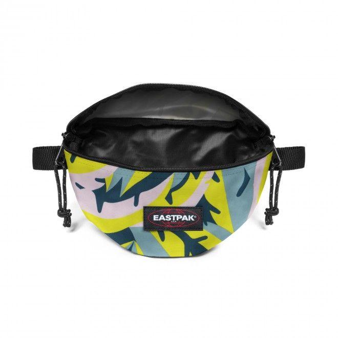 Bolsa Eastpak Springer Bum Bag Unisexo Amarelo Azul Verde Nylon EK000074I791