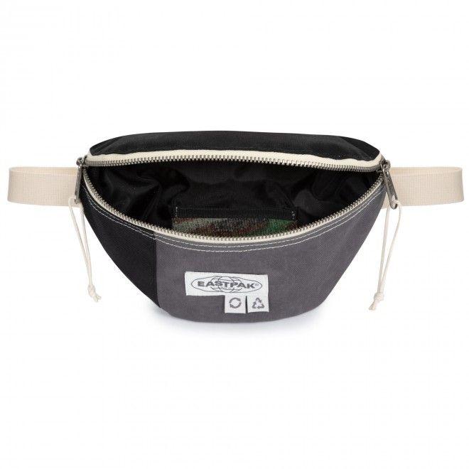 Bolsa Eastpak Springer Surplus Black Waistbag Unisexo Adulto Preto Cinza Bege EK000074J47