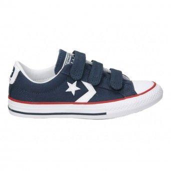 Sapatilhas Converse Star Player EV V Criança Unisexo Azul Lona 315467