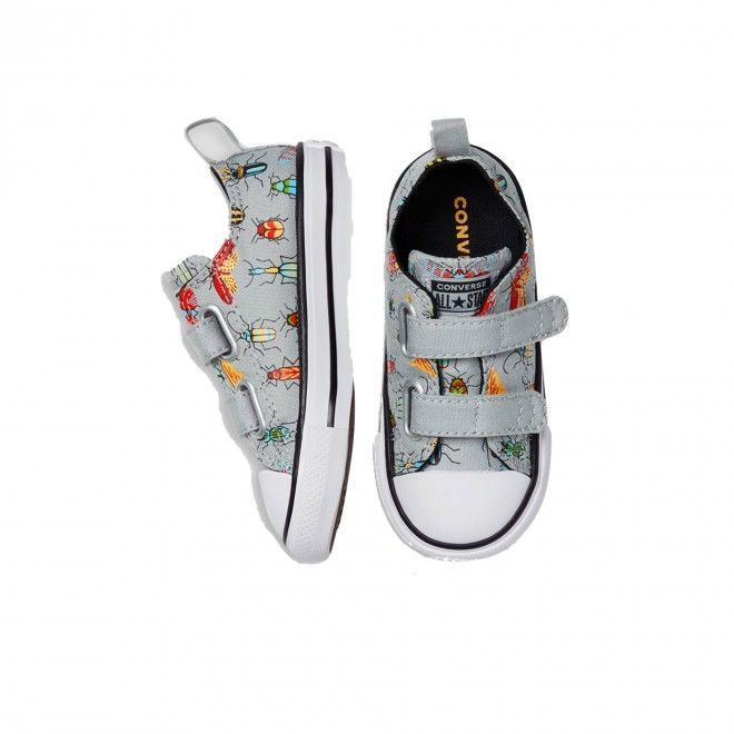 CONVERSE CHUCK TAYLOR ALL STAR TODDLER 2V BUGGED OUT LOW TOP 770710