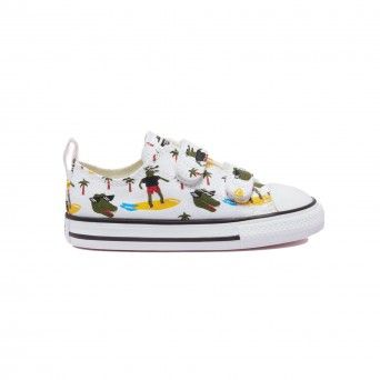 Converse Toddlers' Croco Surf Easy-On Chuck Taylor All Star Low Top 771294C
